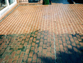Brick Patio Cleaning Baltimore Maryland
